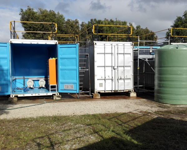 Containerised Sewage Treatment | Wastewater Solutions | PWTSA